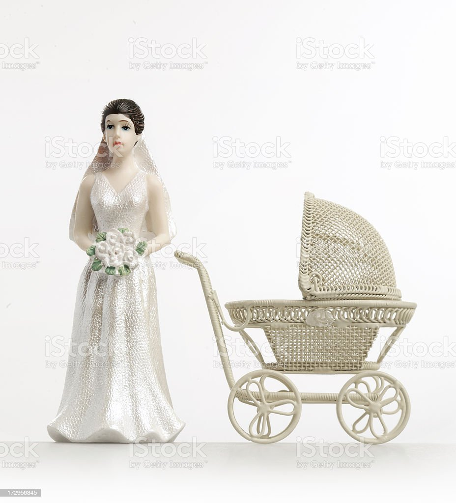 single mother royalty-free stock photo