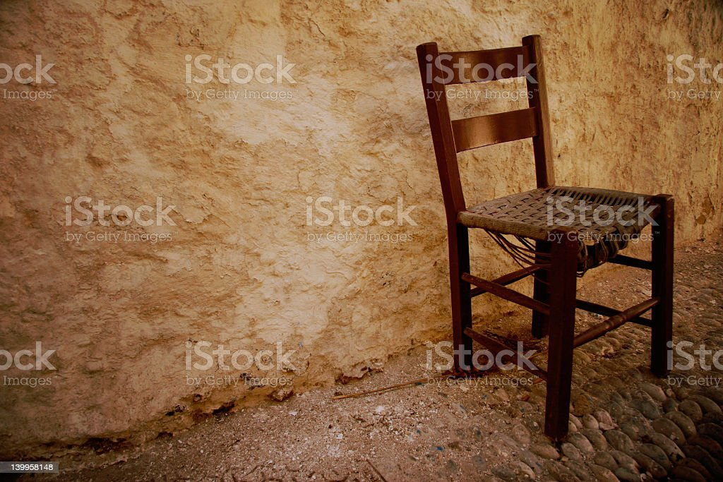 single old chair royalty-free stock photo