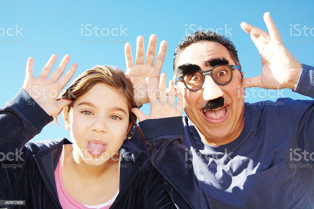 Single Parent Humor royalty-free stock photo