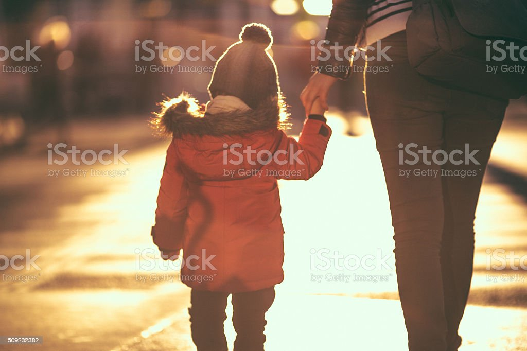Single parenthood stock photo