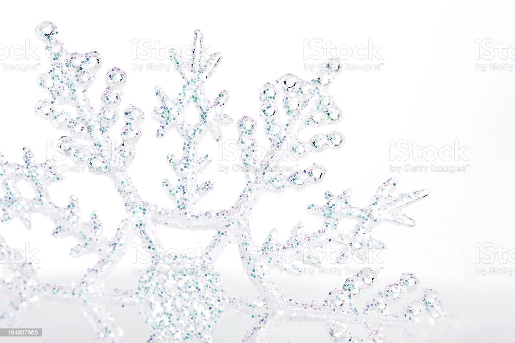 Single Snowflake royalty-free stock photo