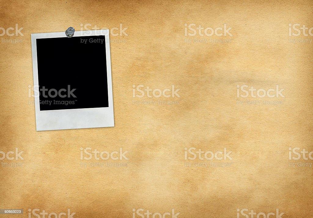 Single Tacked Photo royalty-free stock photo