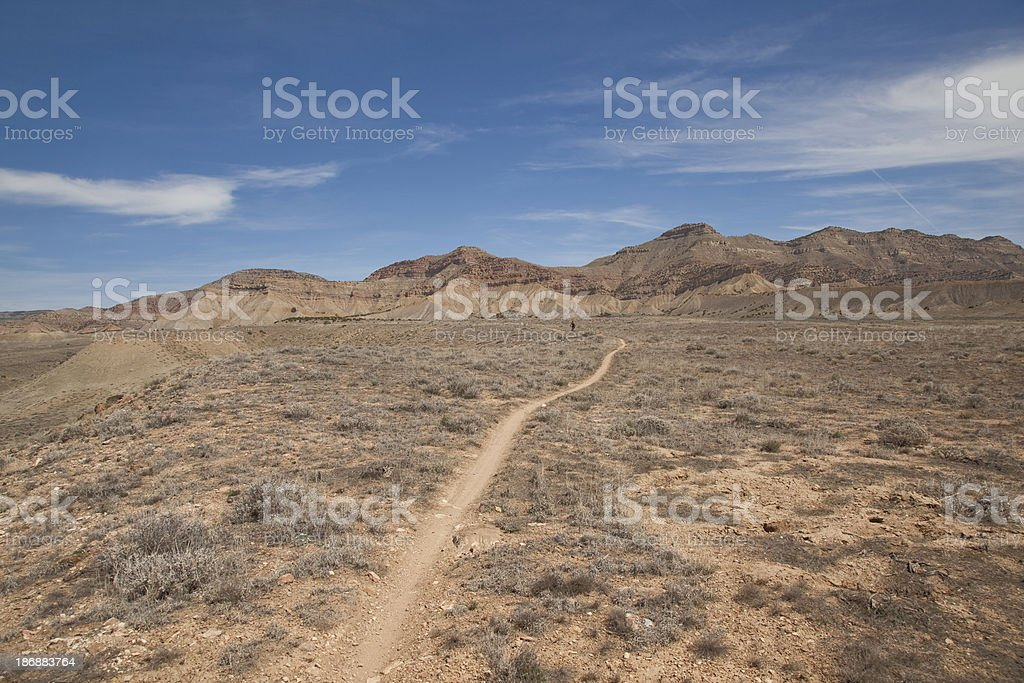 Single Track royalty-free stock photo