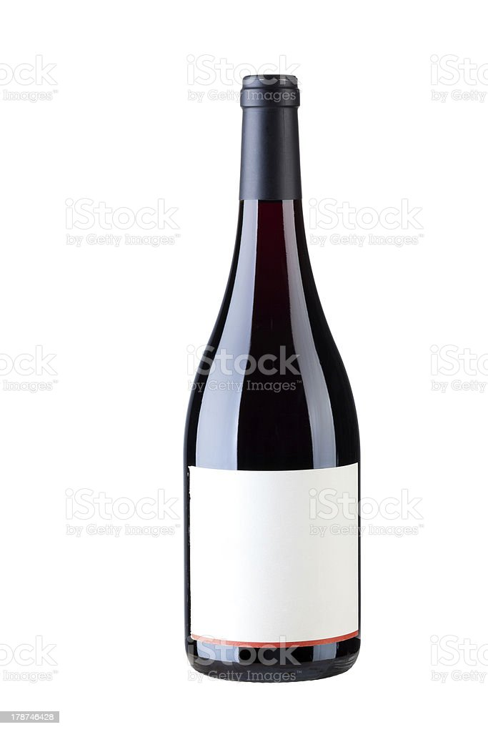 Single wine royalty-free stock photo
