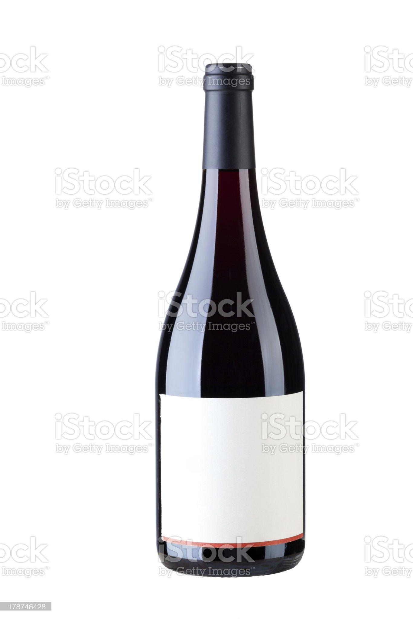 Single wine royalty-free stock photo
