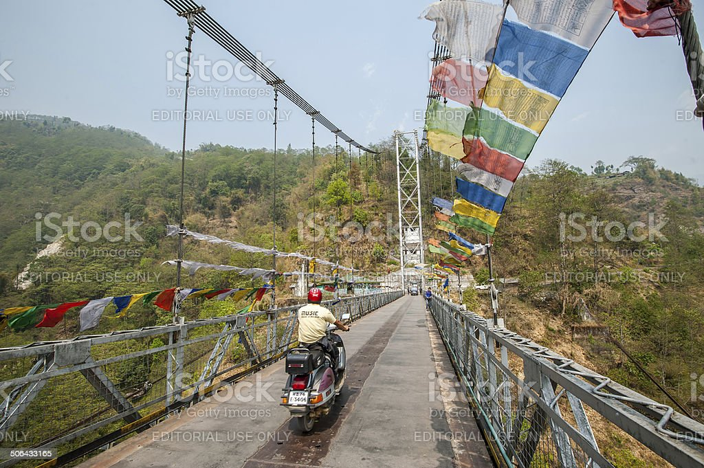 Singshore Bridge royalty-free stock photo