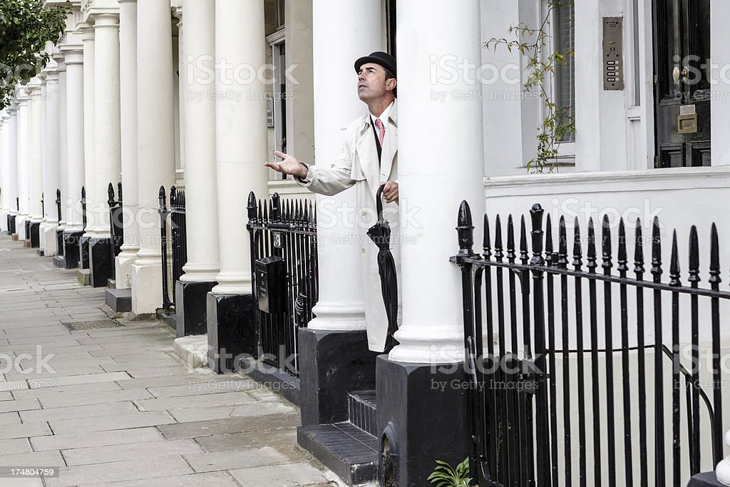 Singularity of London royalty-free stock photo