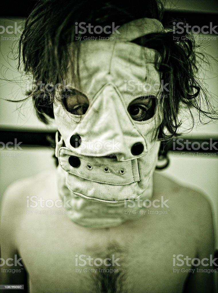 sinister stock photo