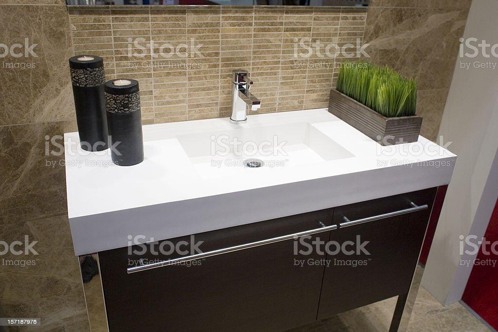 Sink Display royalty-free stock photo