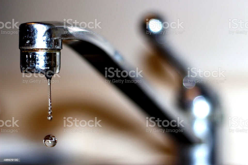 Sink Drip stock photo