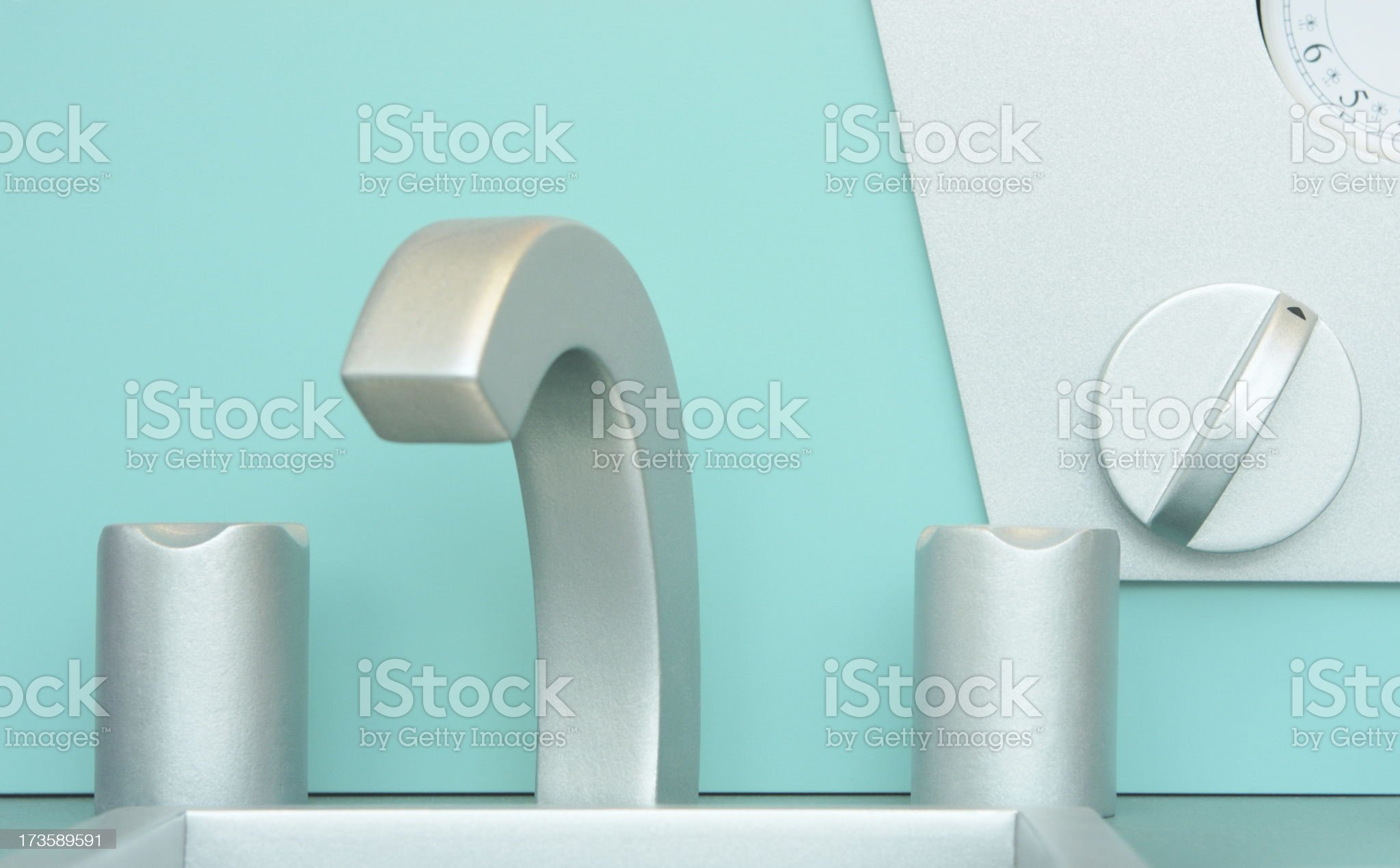 Sink Faucet Child Toy royalty-free stock photo