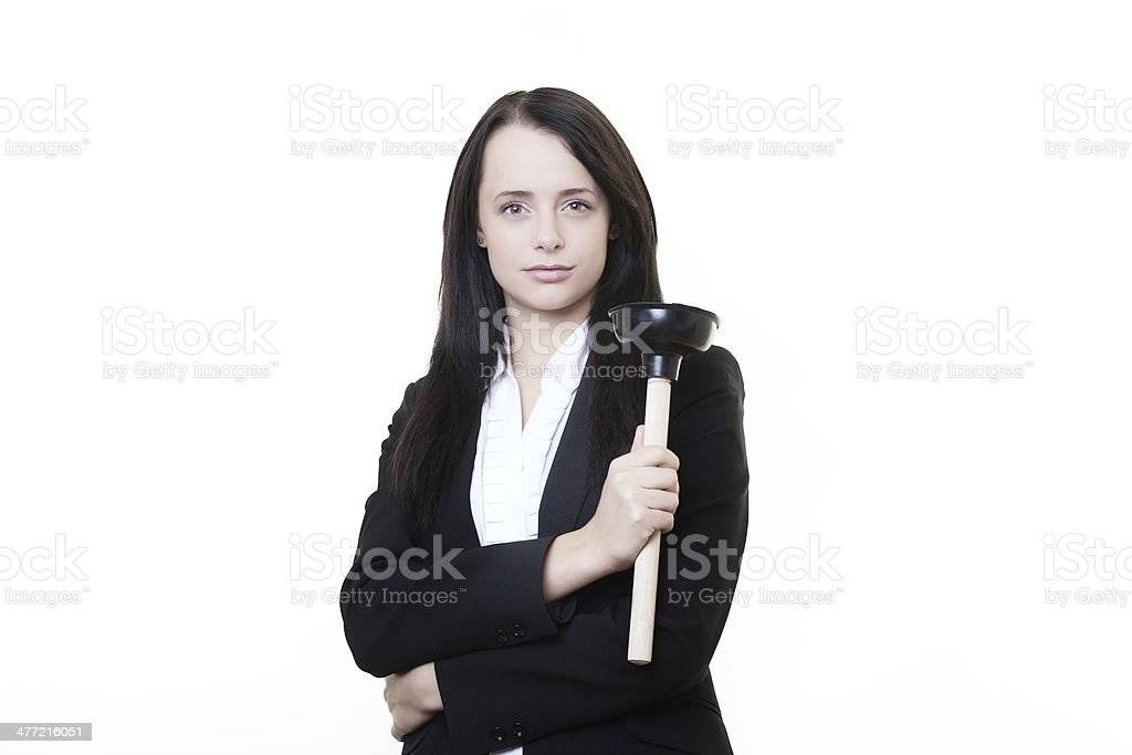 sink plunger royalty-free stock photo