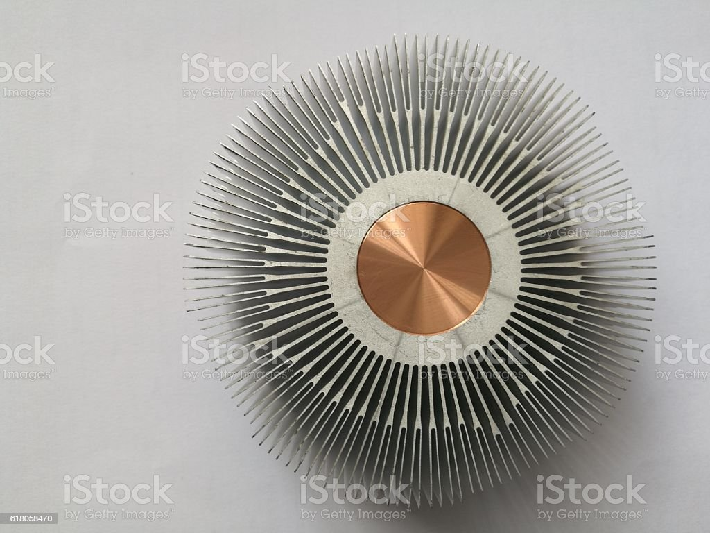 sink to the computer fan stock photo