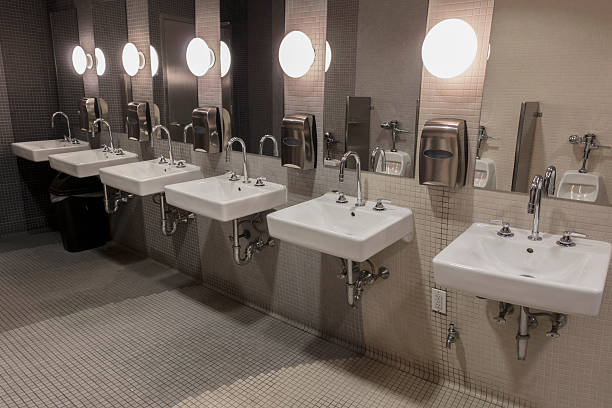 Public Restroom Sink Pictures Images And Stock Photos Istock