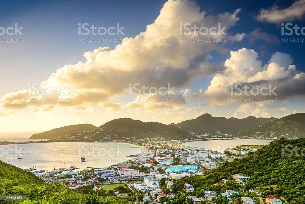 Sint Maarten stock photo