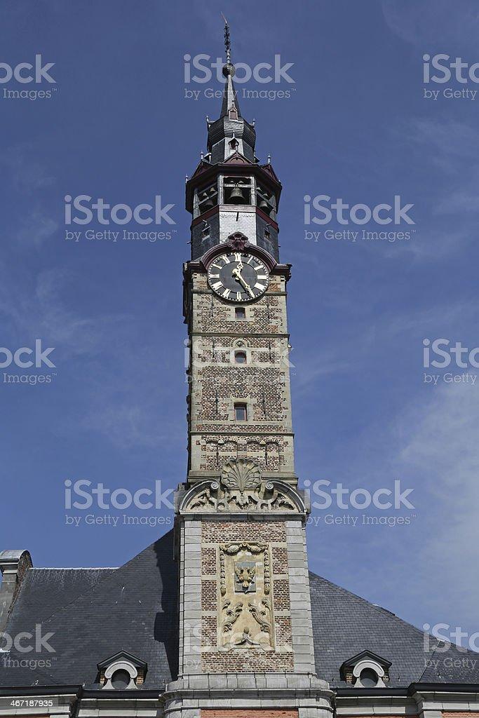Sint Truiden Town hall - 05 stock photo