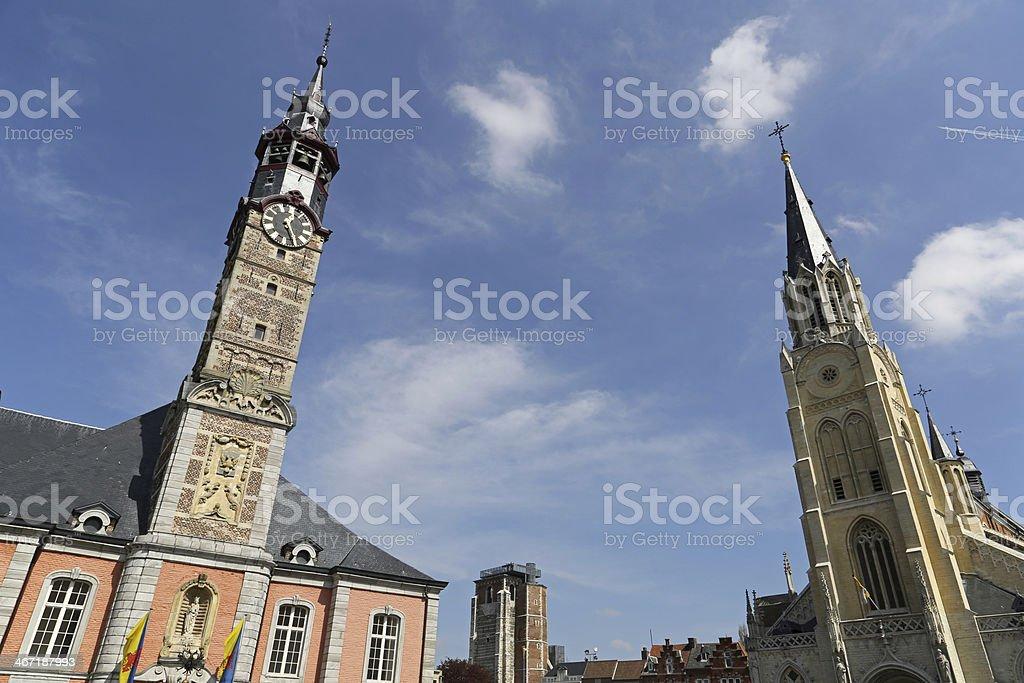 Sint Truiden Town hall - 06 stock photo