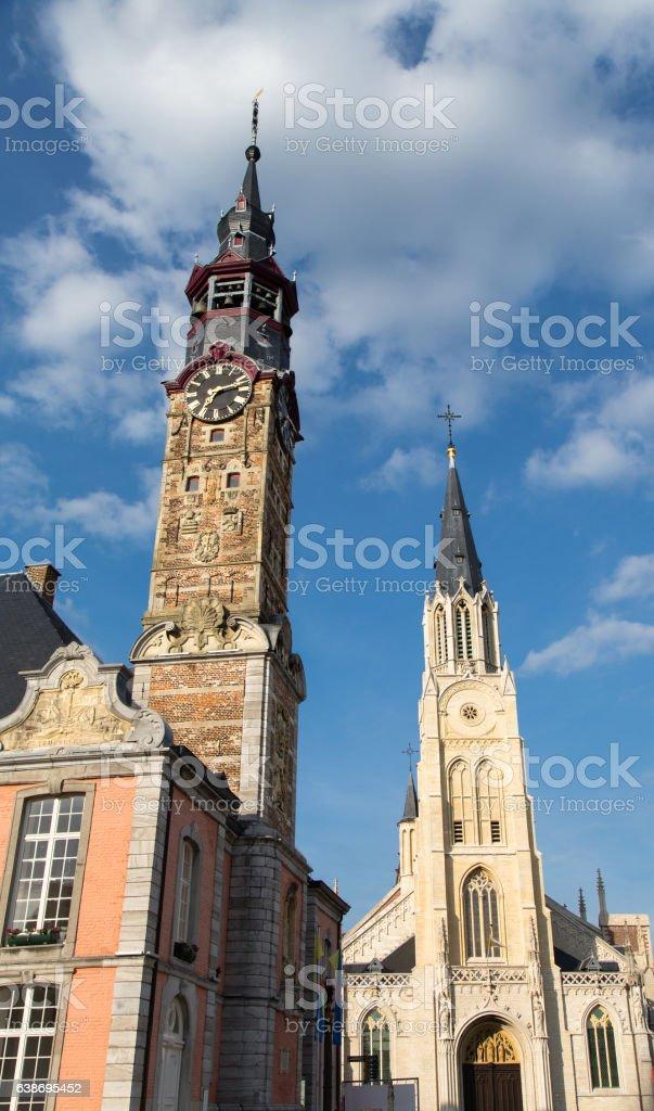 Sint - Truiden Town hall stock photo