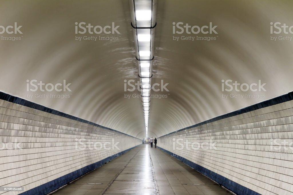 Sint-Annatunnel stock photo
