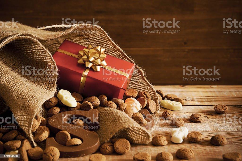 Sinterklaas stock photo