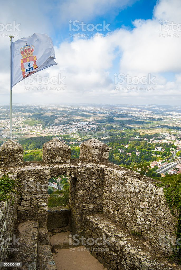 Sintra Aerial View stock photo