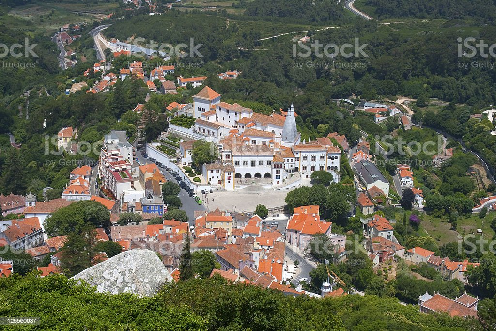 Sintra National Palace, Portugal royalty-free stock photo