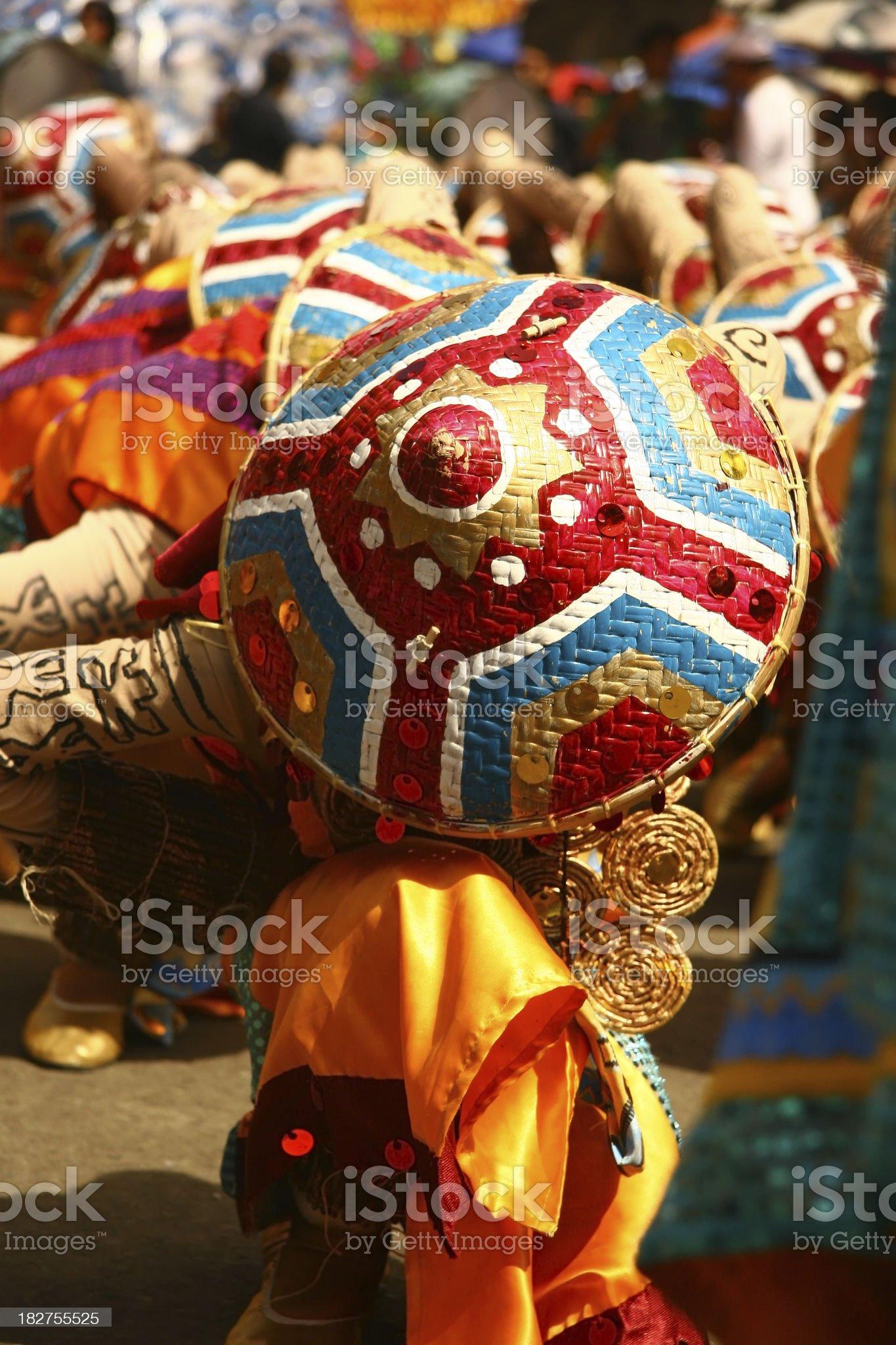 Sinulog Dancer royalty-free stock photo