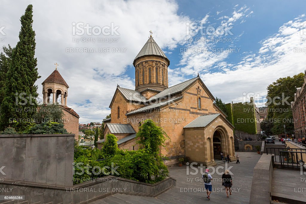 Sioni Cathedral, Tbilisi, Georgia stock photo