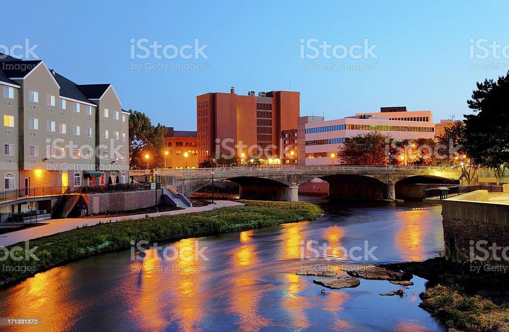 Sioux Falls South Dakota stock photo