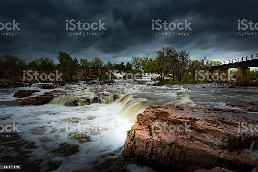 Sioux Falls South Dakota stock photo