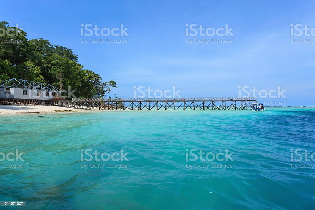 Sipadan Landscape stock photo