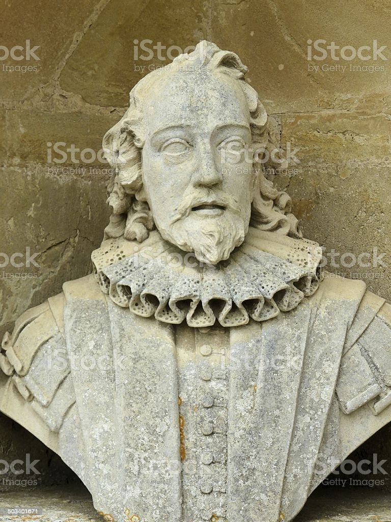Sir Francis Bacon 1561-1626 (Portrait) stock photo