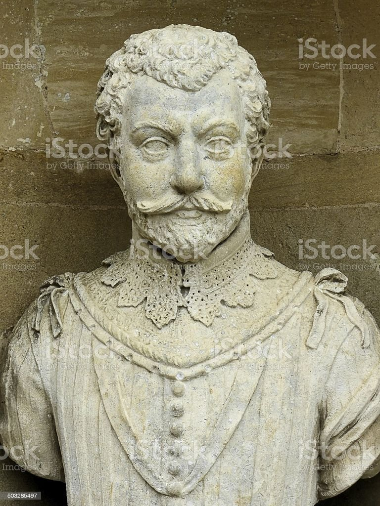 Sir Francis Drake 1540-1596 (Portrait) stock photo
