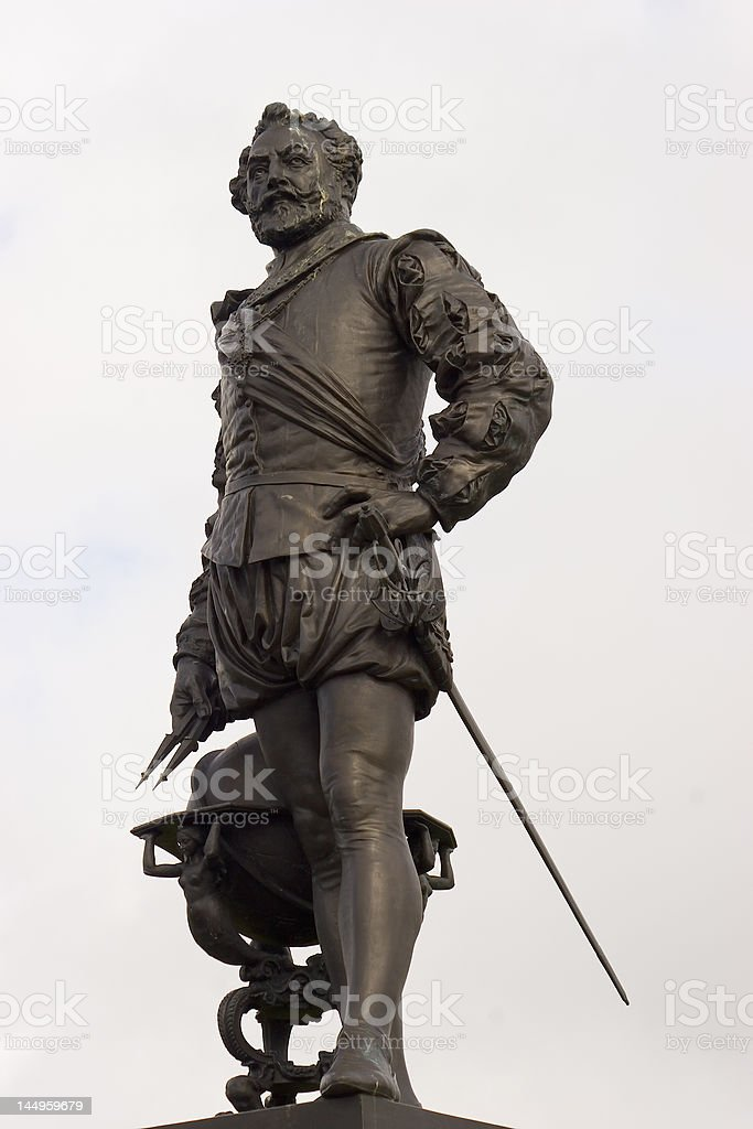 Sir Francis Drake stock photo