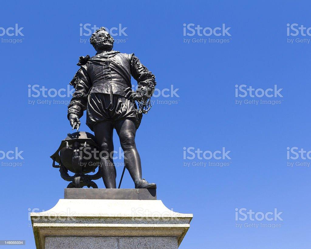 Sir Francis Drake stock photo