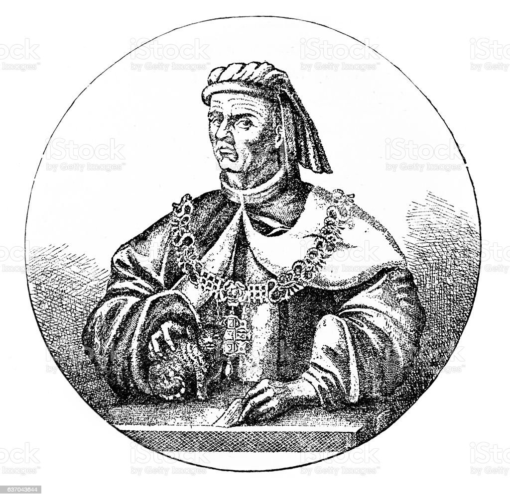 Sir Richard (Dick) Whittington - Lord Mayor of London stock photo