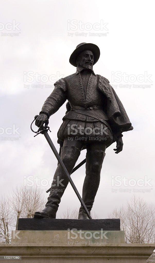 Sir Walter Raleigh royalty-free stock photo
