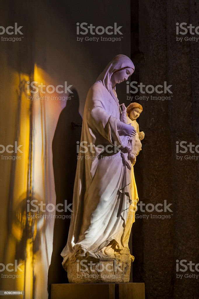 Siracusa Cathedral church stock photo
