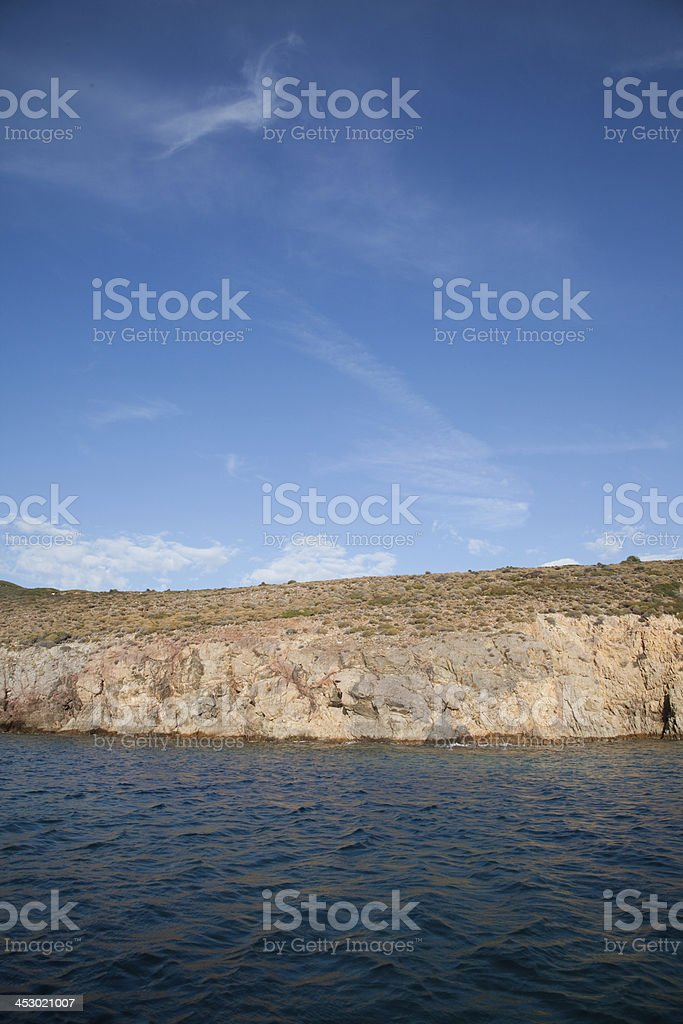 siren reefs and islands foca Phokaia izmir royalty-free stock photo