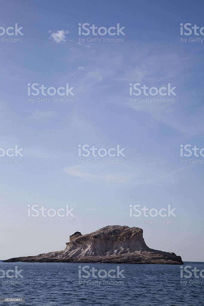 siren reefs and islands foca Phokaia izmir stock photo