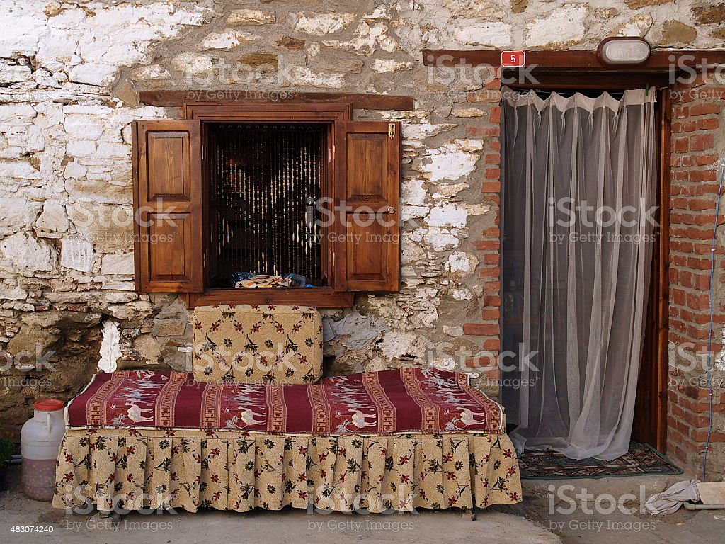 sirince vilage royalty-free stock photo