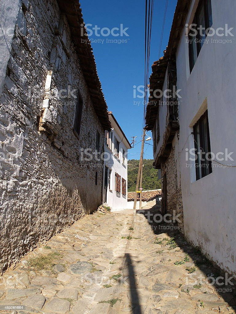 sirince village, ?irince k?y? royalty-free stock photo