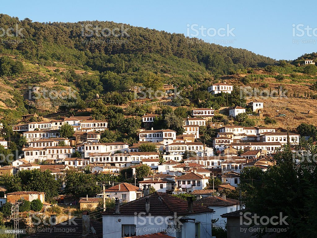 sirince village royalty-free stock photo