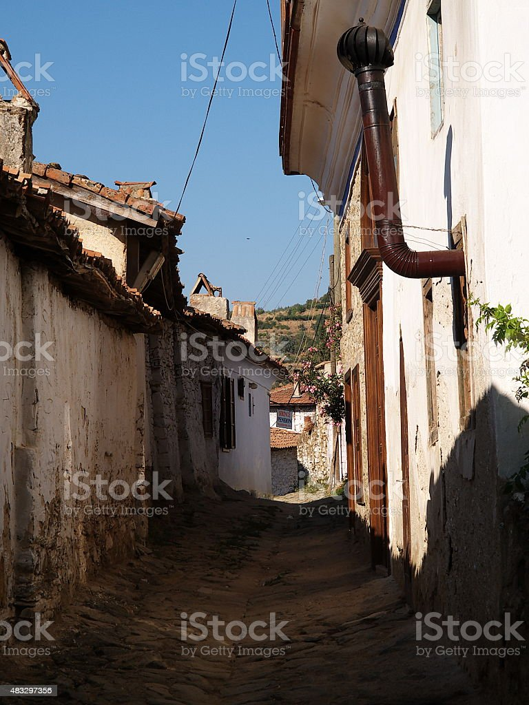 sirince village royalty-free stock photo