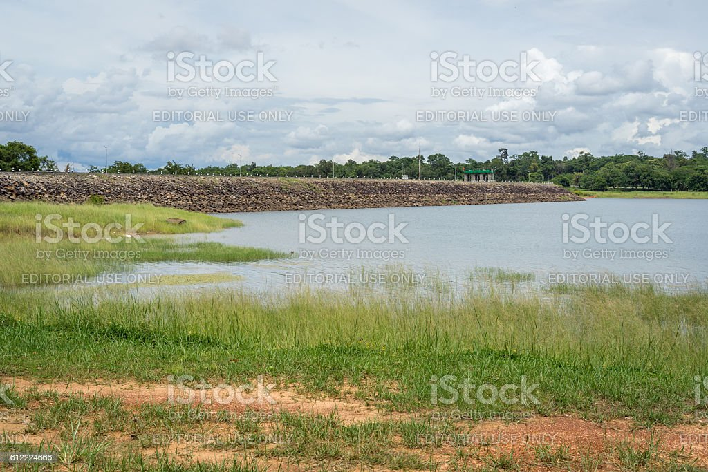 Sirindhorn dam in Ubonratchathani, Thailand photo libre de droits