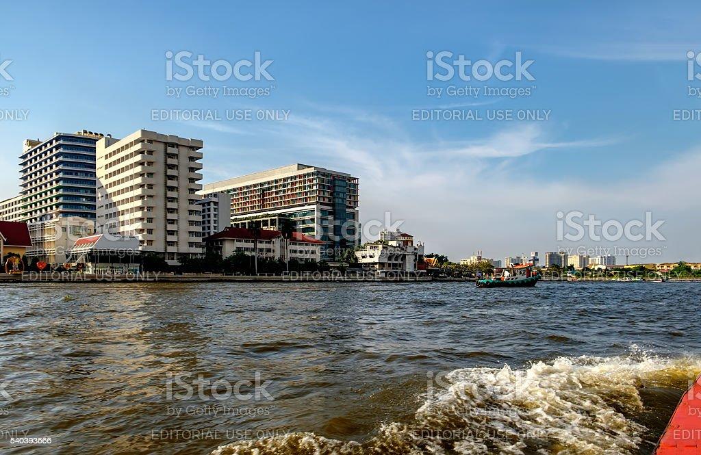 Siriraj hospital  in Bangkok, Thailand stock photo