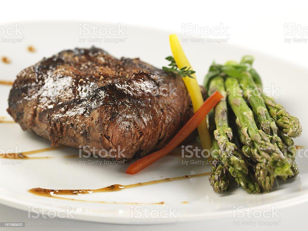Sirloin steak stock photo