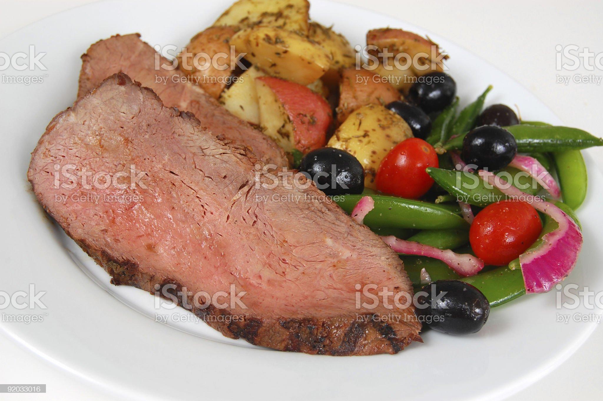 Sirloin Steak royalty-free stock photo