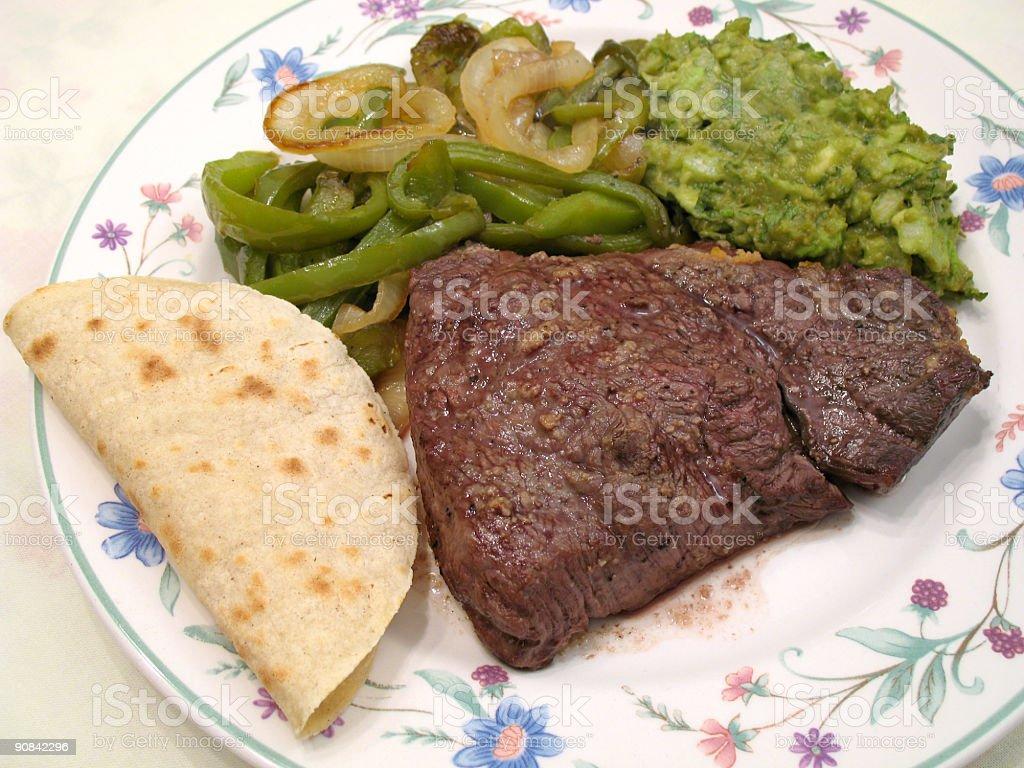 Sirloin Top Steak stock photo