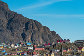 Sisimiut, the second largest settelement (pop. 5,500) in Greenland